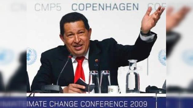 "Hugo Chávez dice que en la Cumbre del Clima ""huele a azufre"""