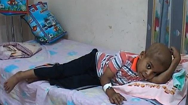 Niños de la guerra: cuando las armas químicas privan de futuro