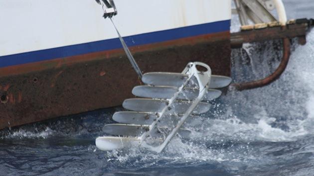 Un robot flotante 'nada' entre San Francisco y Australia dejando atrás corrientes y tiburones