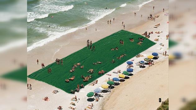 Creada la toalla más grande del mundo