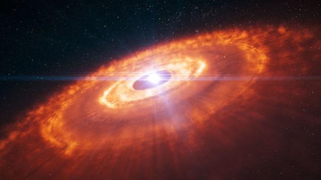 Una impresionante imagen que enseña con mayor claridad cómo se forman los planetas