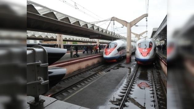 El tren de alta velocidad Sapsán llega a Nizhni Nóvgorod