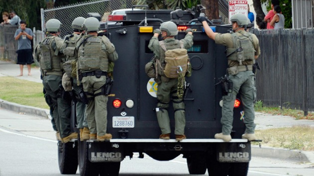 Infografía: El Pentágono arma 'hasta los dientes' a la Policía de EE.UU.