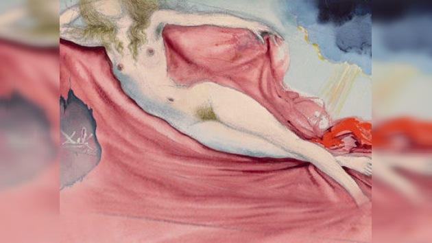 Un cuadro de Dalí pintado para 'Playboy' fue vendido en Nueva York