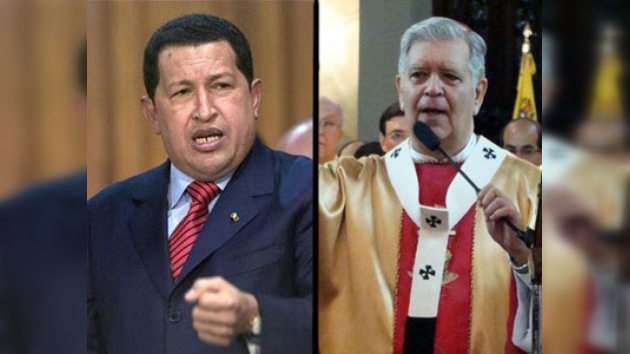 Chávez se enfrenta con la Iglesia católica venezolana