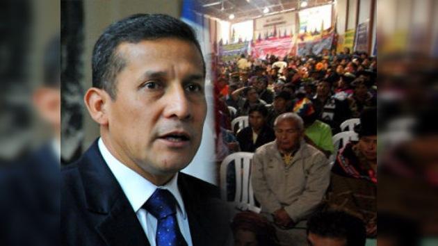 La huelga en la zona cocalera hace recurrir a Humala al estado de emergencia