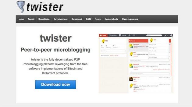 Twister, el innovador análogo de Twitter inaccesible para el espionaje de la NSA