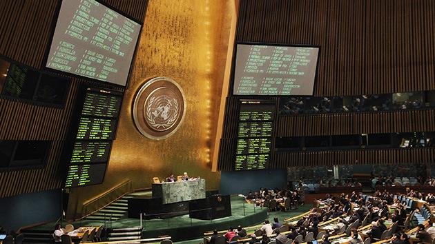 La Asamblea General de la ONU aprueba una nueva resolución sobre Siria