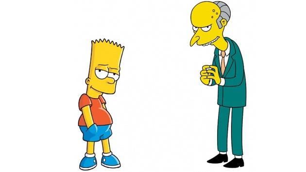Los Simpsons de carne y hueso: Bart es juzgado por el señor Burns