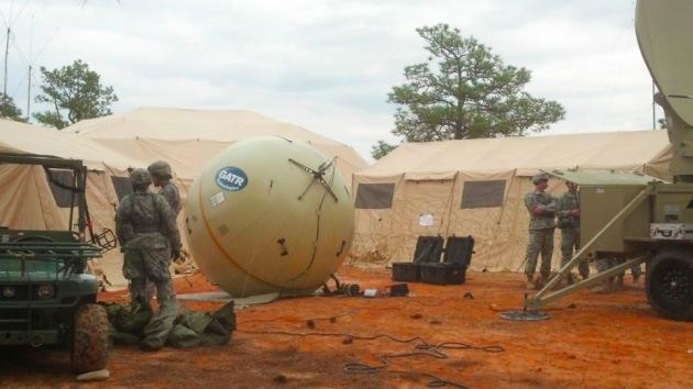 El Pentágono se comunicará mediante antenas de satélite inflables