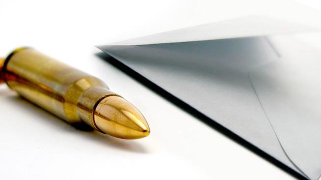 La embajada china en Tokio recibe un misterioso sobre… con una bala dentro