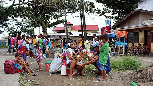 Fotos: Un millón de filipinos huye de sus casas por el tifón Hagupit