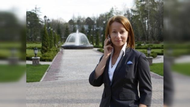 Entrevista exclusiva de la portavoz de Medvédev