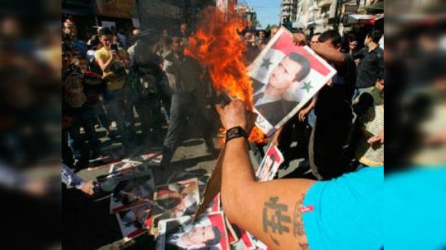 La policía siria mata a varios manifestantes que exigían una zona de exclusión aérea