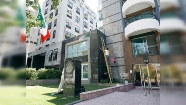 México condena los actos de vandalismo contra su embajada en Chile