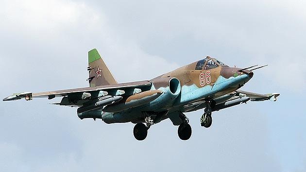 El cazabombardero Su-25 'aprende' a atacar cuatro objetivos simultáneamente