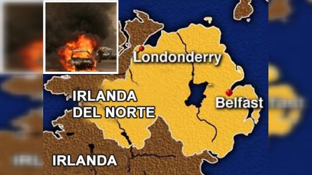 Un coche bomba ha explotado en Irlanda del Norte sin consecuencias graves