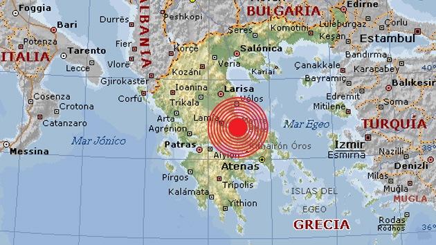 Un terremoto de magnitud 5,1 sacude Grecia