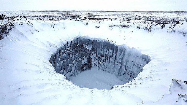 Los cráteres siberianos podrían ser las 'despensas' energéticas del futuro