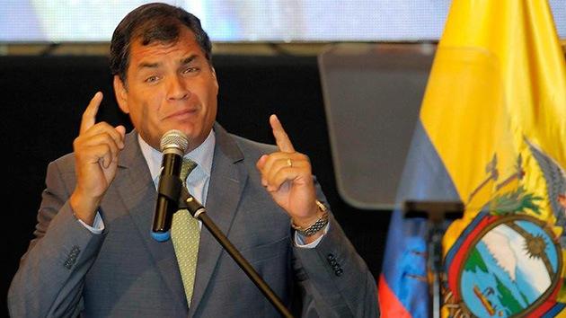 """Correa: Chevron es """"enemigo del país"""" por su """"campaña de desprestigio"""" contra Ecuador"""