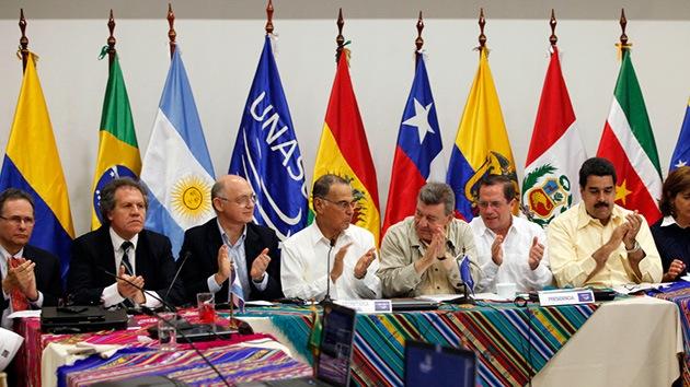 Unasur arropa a Ecuador frente a la amenaza de Reino Unido