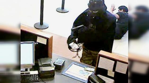 Darth Vader robó un banco neoyorquino
