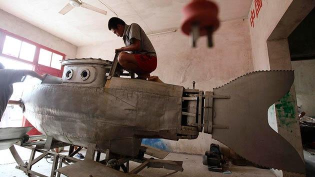 Del paro a ganar miles de dólares: exgranjero chino construye y vende submarinos