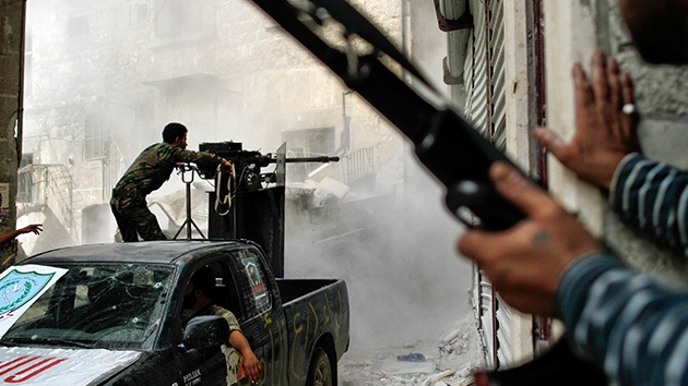 Rebeldes sirios podrían haber tomado el control de una planta petrolífera