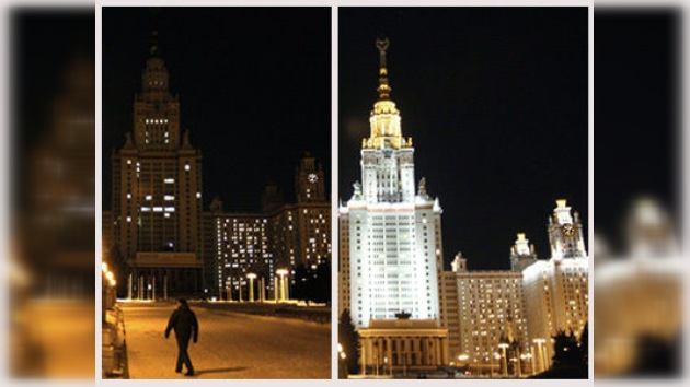 Moscú apaga las luces para celebrar ´La Hora del Planeta´