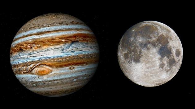 La Luna 'hace sombra' a Júpiter: conjunción a la vista en Sudamérica
