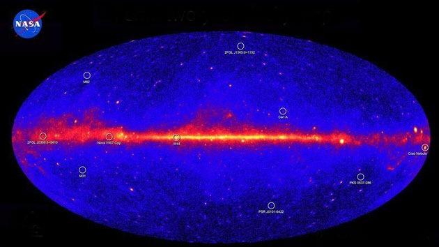 Una rara señal luminosa en el centro de la galaxia asombra a los científicos