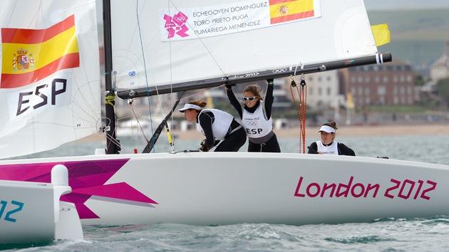 Londres 2012: España se lleva el oro en vela en la categoría femenina