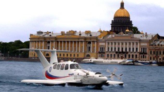 Ingenieros rusos reavivan la idea de hacer un híbrido entre nave aérea y marítima