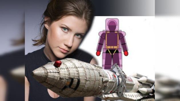 La 'espía' Anna Chapman podría diseñar uniformes para los cosmonautas rusos