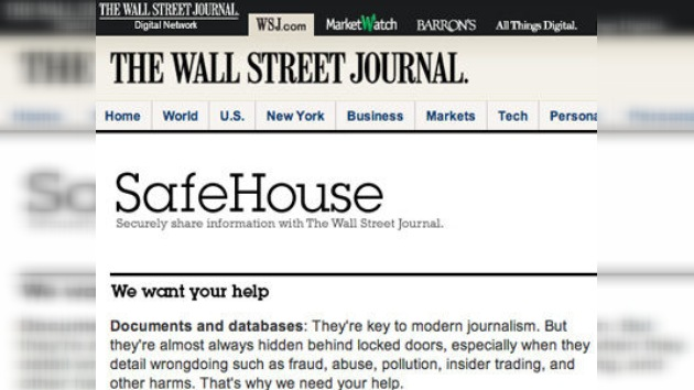 The Wall Street Journal lanza una web para competir con WikiLeaks