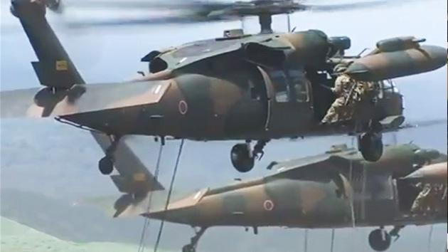 Video: El Japón 'pacifista' muestra su Ejército al mundo