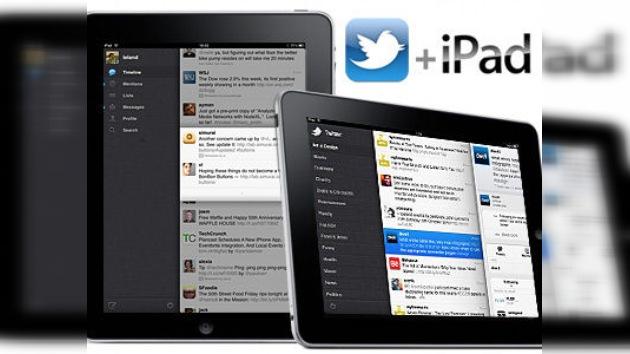 Aparece una nueva versión de Twitter para los usarios de iPad