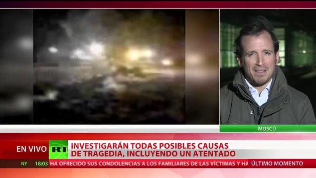 """""""Mal mantenimiento del avión sería una de las causas del accidente aéreo en Kazán"""""""