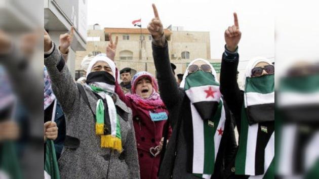 La oposición siria considera ya una intervención militar extranjera