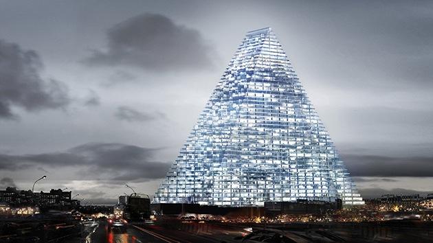 Fotos: La polémica torre de cristal que divide la sociedad parisina