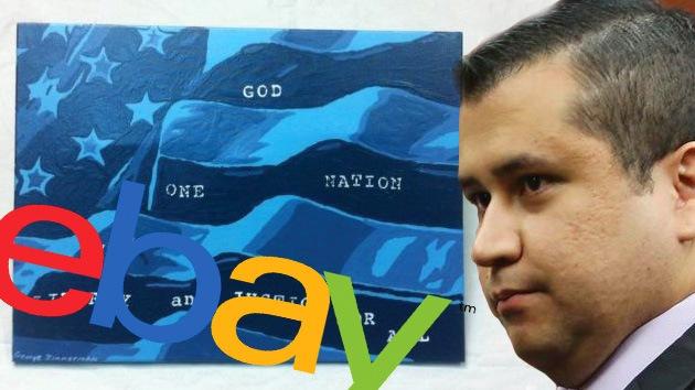 Zimmerman se arma con un pincel: Subastan un dibujo suyo en eBay por casi 100.000 dólares