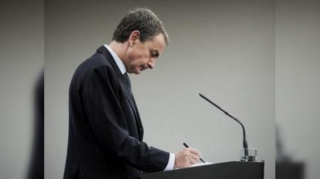 Zapatero decide convocar elecciones anticipadas