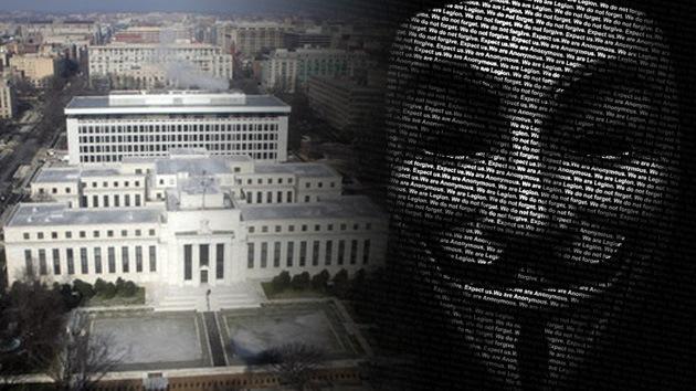 Anonymous 'hackea' el sistema de la Reserva Federal de EE.UU.