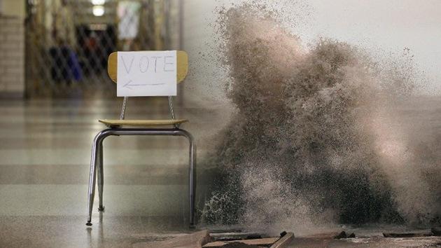 Sandy podría obligar a aplazar las elecciones presidenciales de EE.UU.