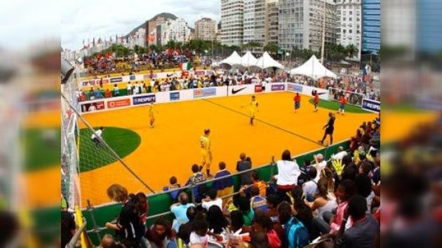 En Brasil se celebra el Mundial de Fútbol Social para jugadores sin hogar