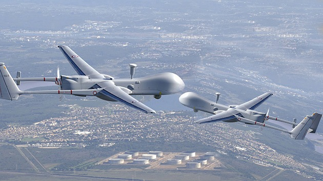 Militares israelíes: Pronto veremos duelos entre 'drones'