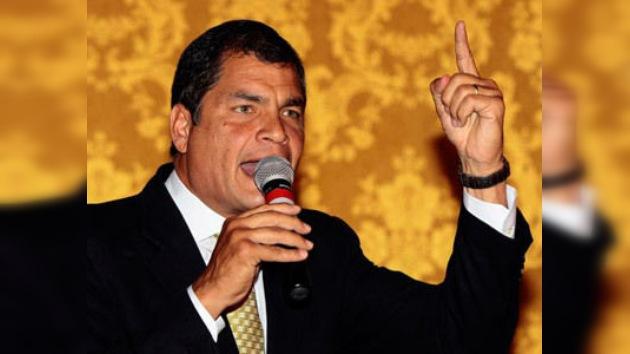 """Correa: """"reusar, reducir y reciclar"""" para salvar el medio ambiente"""