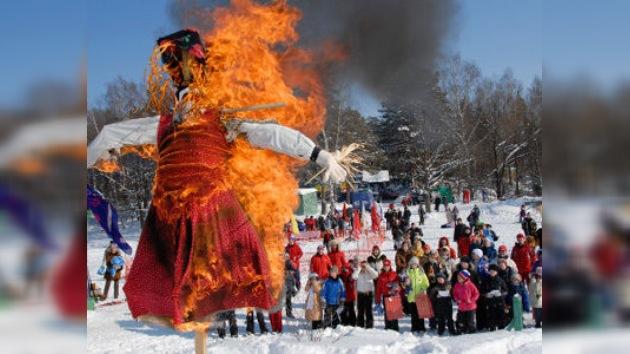 Domingo de Perdón: el último adiós al invierno en Rusia