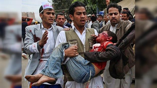 Decenas de muertos y centenares de heridos en disturbios en Yemen
