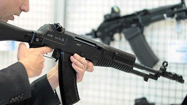 Eurosatory-2014: Kaláshnikov presenta tres armas de uso civil